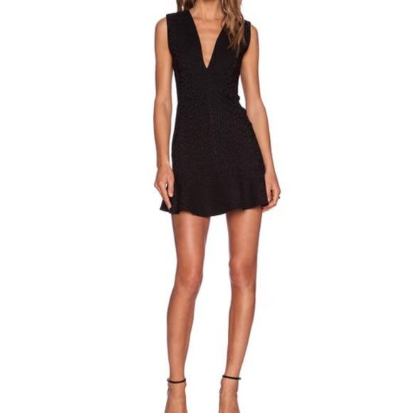 MLM Dresses & Skirts - Little Black Dress MLM Label Ruffle Size S